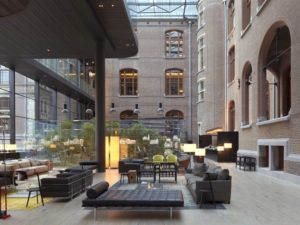 Conservatorium Hotel Amsterdam Accommodation Holland The Netherlands DMC lobby