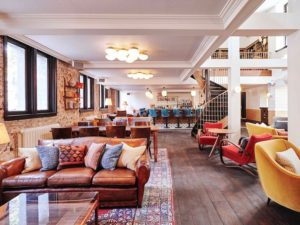 Hoxton - Lounge amsterdam holland netherlands hotel accommodation dmc