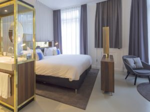 INK hotel - bedroom hotel accommodation amsterdam holland netherlands travelagent dmc dutchman
