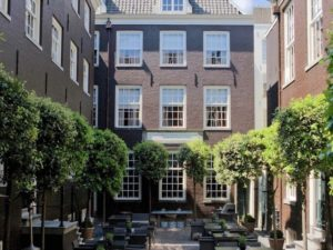 The Dylan - innercourtyard amsterdam holland netherlands hotel accommodation dmc