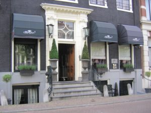 Toren hotel - outside hotel accommodation amsterdam holland netherlands travelagent dmc dutchman