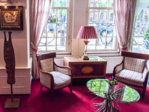 Ambassade lobby hotel accommodation amsterdam holland netherlands