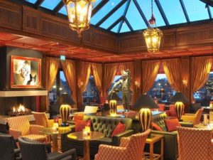 Grand Hotel Huis ter Duin lounge hotel accommodation holland netherlands