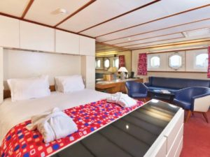 SS Rotterdam - bedroom 2 holland netherlands waterboats vacation travelagent dmc dutchman accommodation
