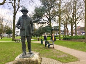 Statue of Van Gogh Nuenen The Dutchman DMC Holland DMC The Netherlands Travel agent Travel concierge IMG_2493