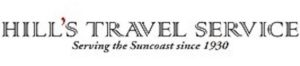 Hills travel service logo
