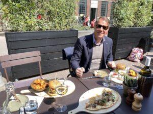 The Dutchman Travel agent The Netherlands To eat To stay Hotel V The Lobby Nesplein IMG_9312
