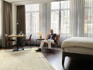 The Dutchman Travel agent The Netherlands To eat To stay Hotel V The Lobby Nesplein IMG_9329